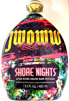 $ CDN72.54 • Buy Jwoww Shore Nights After Hours Deluxe Dark Bronzer Tanning Bed Lotion