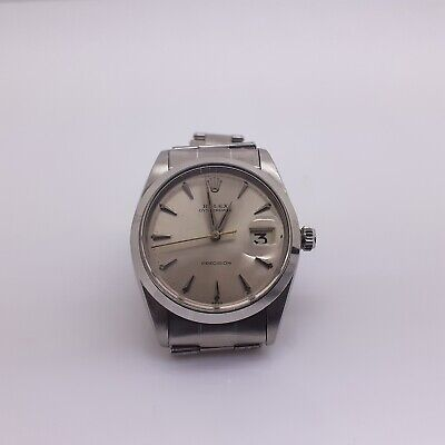 $ CDN3809.60 • Buy Vintage Rolex OysterDate Precision Steel Automatic Watch 6694 Circa 1963