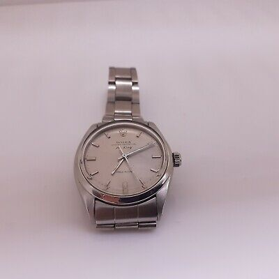 $ CDN3756.87 • Buy Vintage Rolex Oyster Perpetual Air King Steel Automatic Watch 1002 Circa 1966