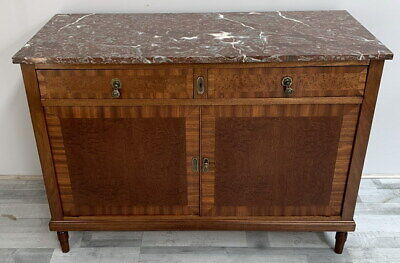 £299 • Buy French Antique Marble  Topped Chest Of Drawers / Sideboard