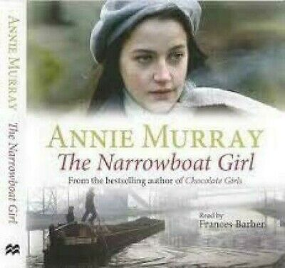 Annie Murray - The Narrowboat Girl: Read By Francis Barber (2006) 3 X CD • 8.99£