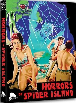 HORRORS OF SPIDER ISLAND - Blu-ray - Exploitation Horror Uncut - Limited Edition • 26.50£
