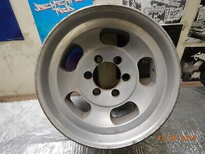 AU129 • Buy VINTAGE 6-LUG 16.5 X 8-1/4  APPLIANCE SLOT MAG WHEEL CHEVY GMC 4x4 PICKUP BLAZER