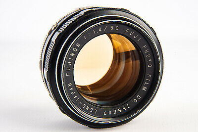 $ CDN119.69 • Buy Fuji Fujinon 50mm F/1.4 Standard Prime Non EBC Lens For M42 Screw Mount V17