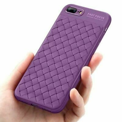 AU2.99 • Buy Shockproof Matte Mesh Woven Case Cover For Apple IPhone Xs 8 7 Plus 5 SE 6s X