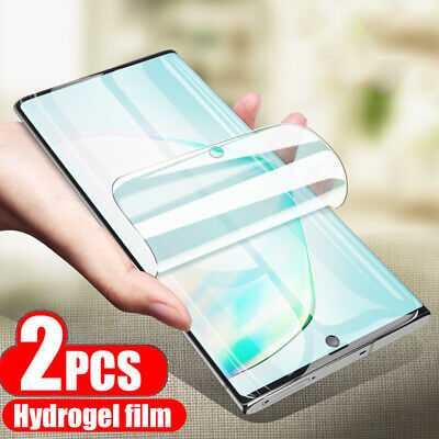 $ CDN3.86 • Buy For Samsung Galaxy Note20 Ultra S20 Plus S10e S9 Hydrogel Soft Screen Protector