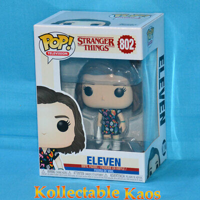 AU23 • Buy Stranger Things - Eleven In Mall Outfit Pop! Vinyl Figure #802