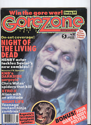 $29.98 • Buy Gorezone No.16 1990 Night Of The Living Dead Chris Walas 080520DBE