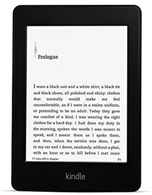AU78.18 • Buy Kindle Paperwhite 2, 6th Generation WiFi E-Reader, High-Res, Built-in Light, 2GB