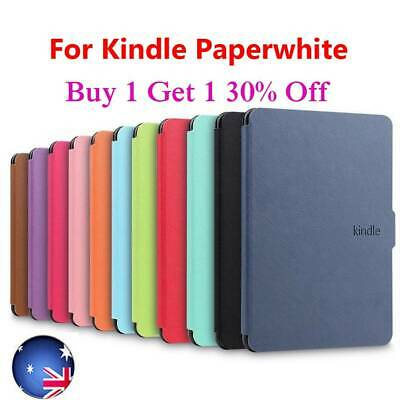 Leather Flip Magnetic Cover Smart Case For Amazon Kindle Paperwhite 1/2/3 UK • 6.03£