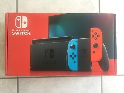 $ CDN520 • Buy Nintendo Switch With Neon Blue And Neon Red Joy‑Con (Nintendo Switch)