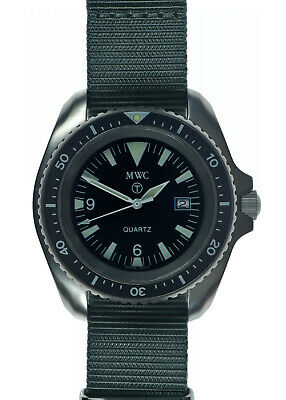 $ CDN251.26 • Buy Original MWC Military Divers Watch 1000ft Water Resistant Rare 1999-2001 Pattern