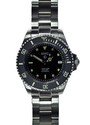 $ CDN423.39 • Buy MWC 24 Jewel 1000ft/300m Automatic Military Divers Watch With Sapphire Crystal