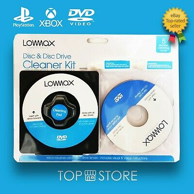 £3.29 • Buy Laser Lens Cleaner Cleaning Kit For PS3 XBOX 360 BLU RAY DVD PLAYER CD DISC