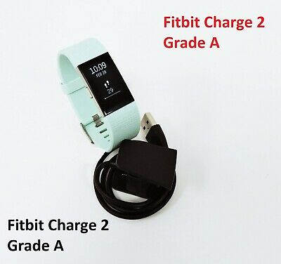 $ CDN70.76 • Buy Fitbit Charge 2 Heart Rate Fitness Sleep Tracker Teal Large Grade A
