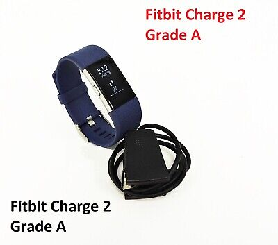 $ CDN67.99 • Buy Fitbit Charge 2 Heart Rate Activity Tracker Wristband Large Blue Grade A