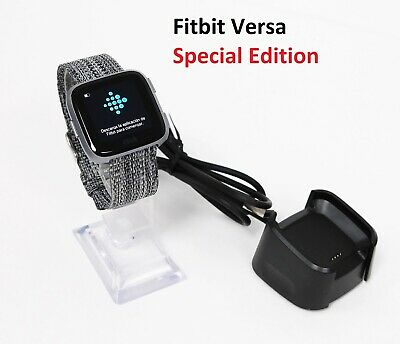 $ CDN87.53 • Buy Fitbit Versa FB505 Special Edition Charcoal Woven Band, Large