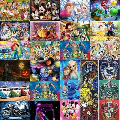 AU13.99 • Buy 5D Full Drill Diamond Painting Full Drill Embroidery Mickey Toy Painting Home