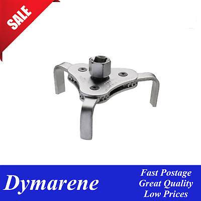 AU28.99 • Buy Oil Filter Removal 3 Jaw Wrench Tool 2 1/2  - 4 3/8'' 63mm-110mm 3 Leg TOOL KING
