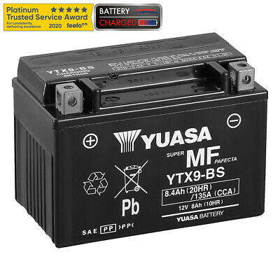 Genuine Yuasa YTX9-BS High Power AGM Motorbike Motorcycle Battery-Filled&charged • 34.47£