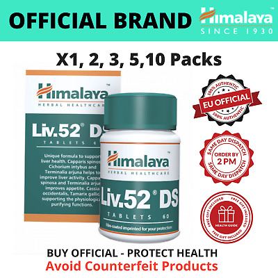 Liv.52 DS Tablets 60 To 600   BUY DIRECTLY FROM BRAND   Free Liver Care EBook • 8.99£