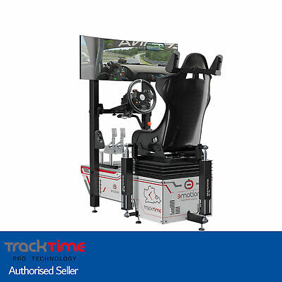 TRACKTIME MOTION Racing Simulator Package - FULLY BUILT READY TO RACE * • 15,999£