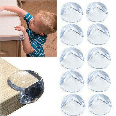 £3.77 • Buy 10 X Non-toxic Soft Corner Protectors Baby & Child Furniture Protection Guard UK