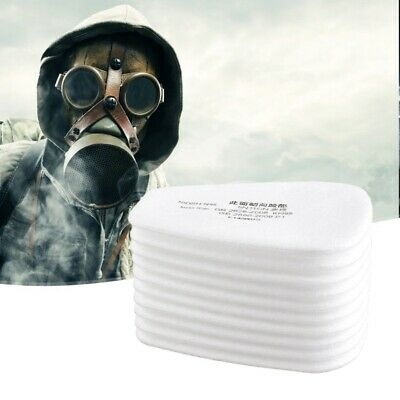 AU6.70 • Buy 10Pcs 5N11Cotton Filter Safety Protect Replacement For 6200 6800 7502 Respirator