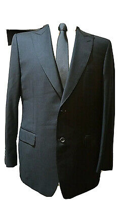 £89.99 • Buy Canali ~brown Label~ Smart Elegant Tailored Black Suit Uk 42r Eu 52r