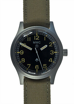 $ CDN260.83 • Buy MWC W10 Classic 1950s/60s European Pattern Auto Stainless Steel Military Watch