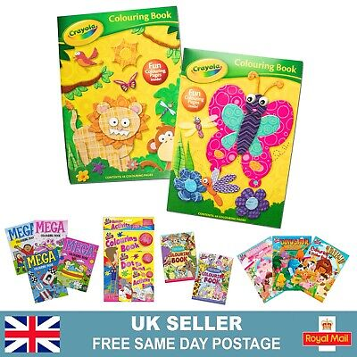 Crayola Colouring Books   Childrens Activity Books Kids Arts And Crafts • 1.95£