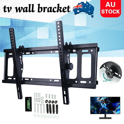 AU17.99 • Buy TV Wall Mount Bracket Tilt Slim LCD LED 32 40 42 43 47 50 55 60 62 65 70 Inch