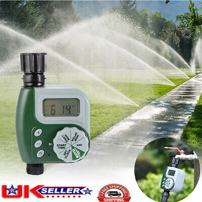 Automatic Watering Garden Plant Drip Irrigation Water Pump Timer System • 9.59£