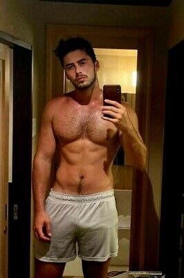 $ CDN4.43 • Buy Shirtless Male Hot Beefcake Hunk Latino Hairy Chest Boxer Dude PHOTO 4X6 G945