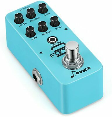 $ CDN69.71 • Buy Donner Force 2 Mini Electric Guitar Preamp Effect Pedal DC 9V