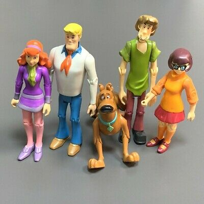 £13.81 • Buy Rare Lot 5 Scooby-Doo Velma Shaggy Daphne Dog Fred 5'' Action Figures Toys Gifts