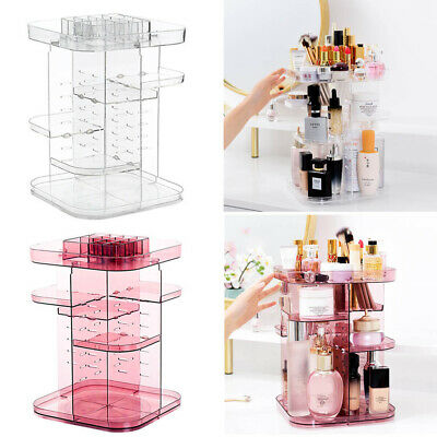 Acrylic Makeup Cosmetic Lipstick Display Stand Storage Holder Organizer Rotating • 11.95£