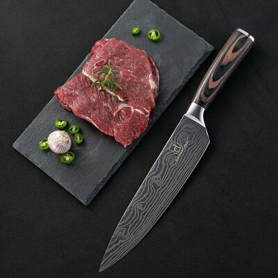 $ CDN28.46 • Buy Knives Messer Clever Kitchen Chef Knives Damascus Steel Chef Knifes Cuchillos