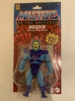 $25 • Buy New Masters Of The Universe Origins Skeletor 5.5 Action Figure Retro 2020 Mattel