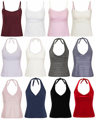 £8.31 • Buy Lepel Womens Built In Bra Vest / Top ALL SIZES AND COLOURS