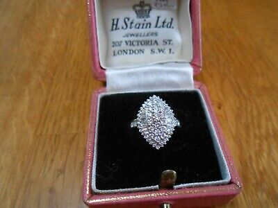 18ct Diamond Baguette 1.85ct Cluster Ring...iliana...valuation Not Recent.£3250. • 1,050£