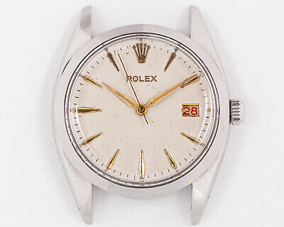 $ CDN2234.35 • Buy Excellent Vintage 1959 Rolex Stainless Steel Oysterdate 6694 Head!