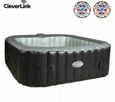 CleverSpa Corona 6 Person Hot Tub, CleverLink, Freeze Shield Technology FREE P&P • 750£
