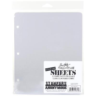 Tim Holtz Stampers Anonymous STAMP STORAGE SHEETS • 5.94£