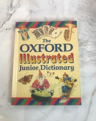 The Oxford Illustrated Junior Dictionary Paperback Book Oxford University Press • 3.99£