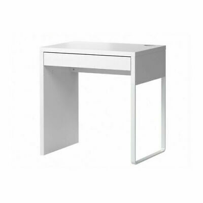 IKEA NEW MICKE DESK Drawer Computer Desk Home Office Workstation White/Black  • 68.99£