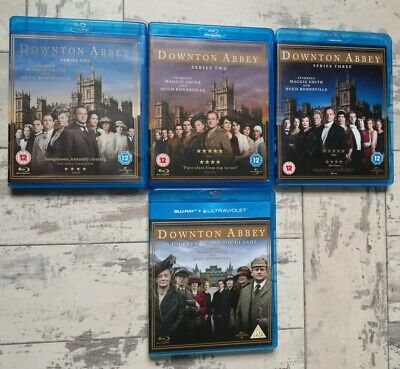 Downtown Abbey Series 1-3 & A Journey To The Highlands Region B. Blu-rays. • 21£