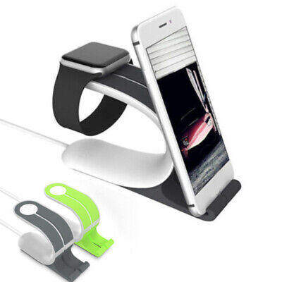AU12.19 • Buy Smart Watch Stand Bracket Accessories Charging Holder Kit For Apple Watch IPhone