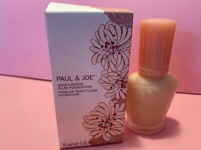 $29.95 • Buy Paul & Joe Moisturizing Fluid Foundation 100 New In Box