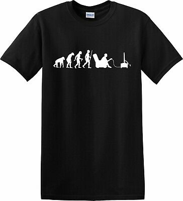 £8.95 • Buy Evolution Gamer T-Shirt Kids Adult Sizes Funny Gaming Gift Xbox Playstation Top
